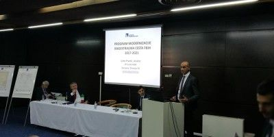 "PC Roads of the FBH at the conference ""Italy and Bosnia & Herzegovina – Building Together"""