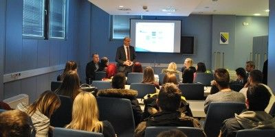 Educational Visit of Master Students of the Faculty of Traffic and Communications of University of Sarajevo