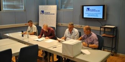 Public Bid opening for M5, Section Bihać 4 - Ripač Axis Correction and Road Pavement