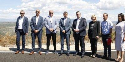 Premijer Novalić obišao gradilišta na magistralnoj cesti M-17.3 Stolac – Neum