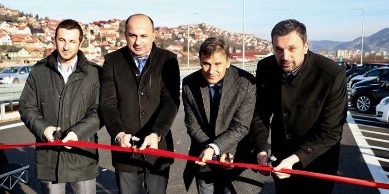 Otvaranje LOT 2C Sarajevske obilaznice