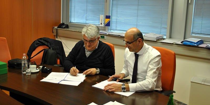 Potpisan ugovor za izvođenje radova na sanaciji pet mostova