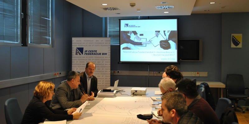 Predbonudbeni sastanak za izvođenje radova na dionici Vranduk – Vitalj - Ormanica