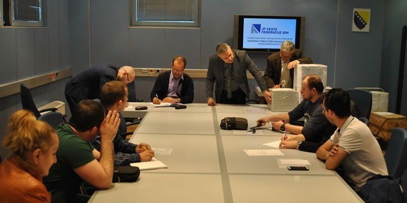 Javno otvaranje ponuda za izvođenje radova na izgradnji magistralne ceste M-17.3 Neum – Stolac; Izgradnja tunela Žaba (Hutovo), L=975 m