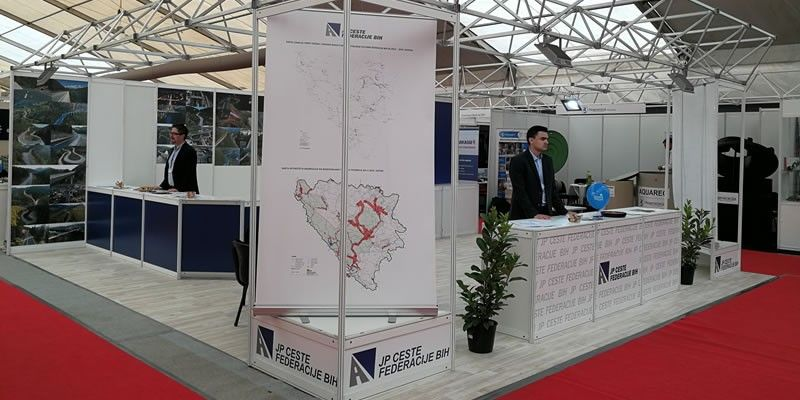 PC Roads of the FBiH Ltd at the 14th Economy Fair – 2018 Tešanj