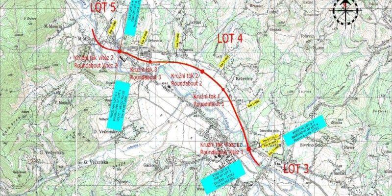 Prezentacija trase brze ceste Lašva – Nević Polje